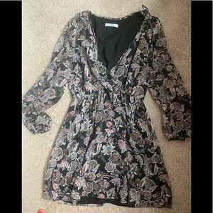 EUC MNG floral dress